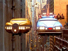 Flying taxi from The Fifth Element