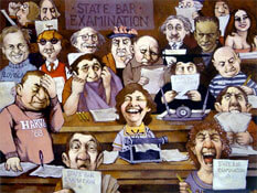Bar exam cartoon.