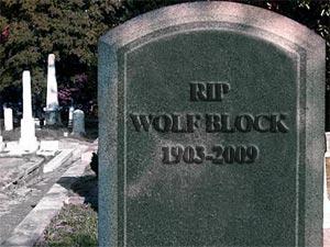 Wolf Block RIP