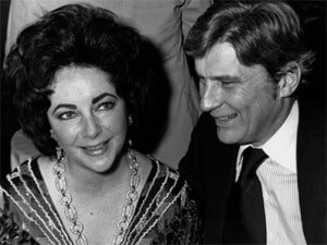Elizabeth Taylor (Left) and John Warner