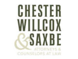 Chester Willcox Partners to Form New Firm