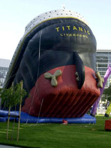 It's the Titanic. Kind of.