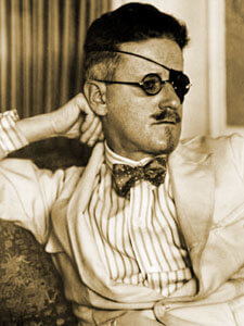 My name is James Joyce. I am an inscrutable Irish writer, not a pirate. I just have eye problems.