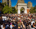 Occupy Wall Street Protests Intensify at Campaign Headquarters; Many Arrested