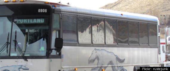 Greyhound Bus Stolen for Trip to Christmas Party