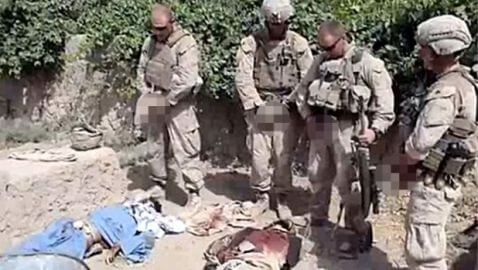Video of Marines Urinating on Dead Bodies Surfaces