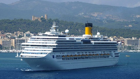 Thieves Steal Bell from Costa Concordia