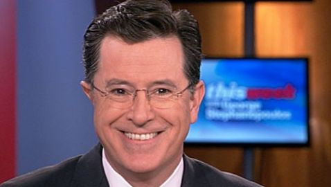 "Stephen Colbert Named as New Host of ""The Late Show"""