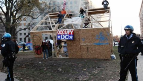 Occupy D.C. Tension Continue To Escalade Over Weekend