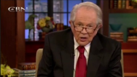 Pat Robertson Tells Viewer to Beat Wife after Converting to a Muslim