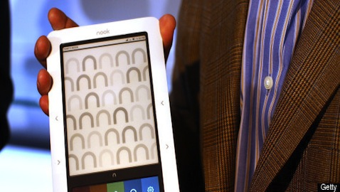 Amid The Patent Fight With Microsoft, Barnes & Noble Talks Nook Unit Spin-off