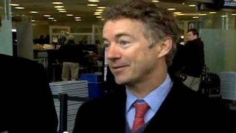 TSA Makes Rand Paul Miss His Flight