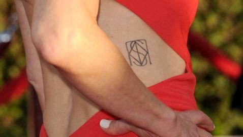 Kyra Sedgwick Shows Off New Family Tattoo