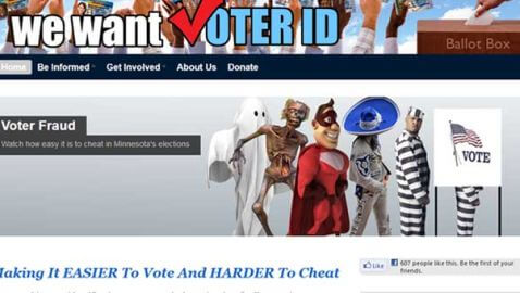 Voter ID Laws Pushed with Racist Imagery in Minnesota