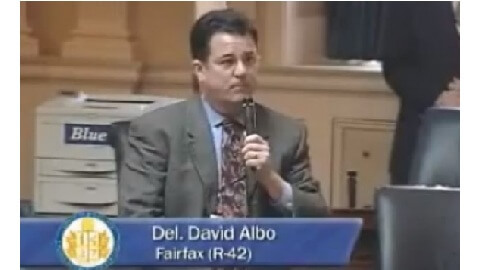 David Albo, State Delegate, Says his Transvaginal Bill Cost Him Vaginal Access