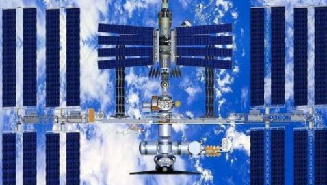 Video of International Space Station Surfaces