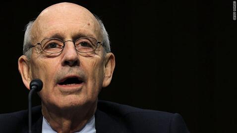 Justice Breyer Robbed By Man Brandishing A Machete