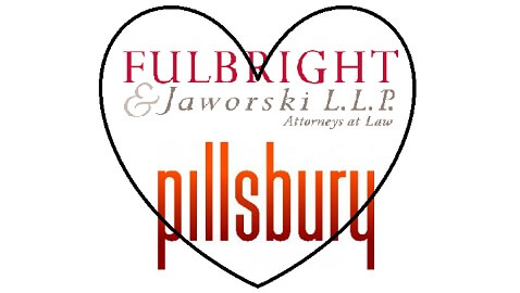 Fulbright and Pillsbury Making Bedroom Eyes that Could Lead to Merger
