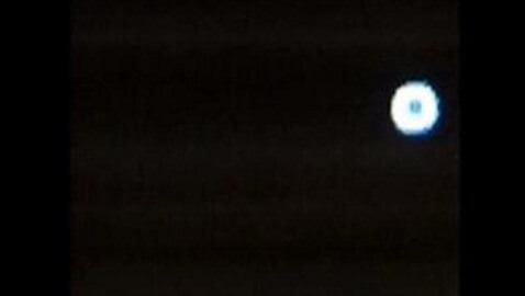 South Carolina UFO Turns Night Sky Blue