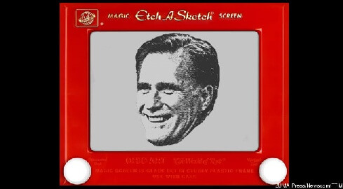 Etch a Sketch Comment About Romney's Policy Does its Damage