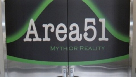 """""""Authentic"""" Alien Material Highlights New Area 51 Exhibit"""