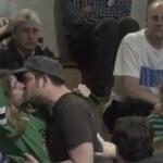 Homosexual Rights Stunt Interrupts Santorum's Speech