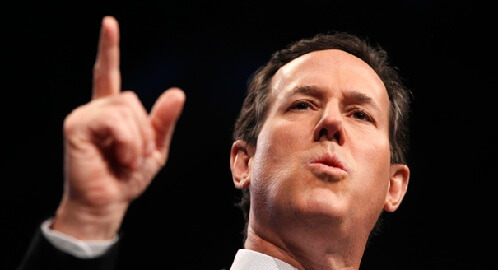 Santorum claims Obama is a Better Choice than Romney