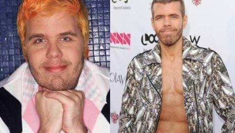 Perez Hilton Shows Off New Body