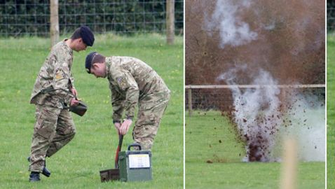 Grenade Found at Egg Hunt in England