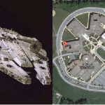 Millennium Falcon Look Alike School Goes Viral