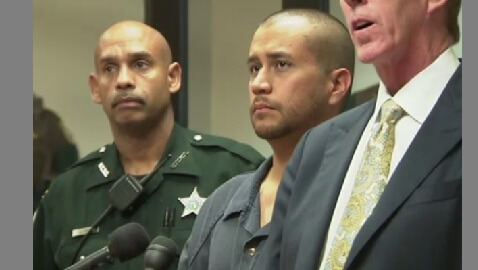 Zimmerman's Perspective: his First Court Appearance