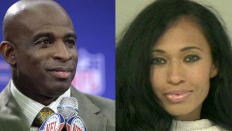 Deion Sanders Charged in Incident Involving Wife