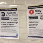 Occupy Wall Street Chains Open New York Subways Giving Free Fare Access