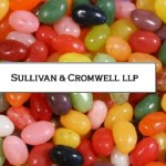 Sullivan and Cromwell Spring Bonuses Amount to Jelly Beans