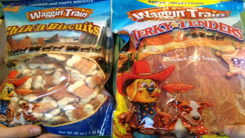 Lawsuit Filed over Dog Dying by Eating Waggin' Train Treats
