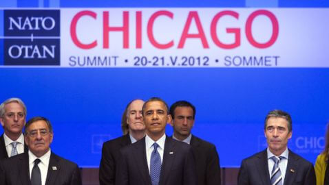 Protestors March in Chicago During NATO Summit