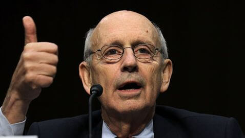 Supreme Court Justice Stephen Breyer Robbed Again