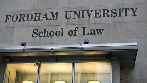 Students at Fordham Law Study Marketing