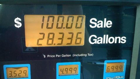 Gas Prices in U.S. Drop for Fifth Straight Week