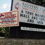 North Carolina Constitutionally Defines Gay Marriage as Illegal