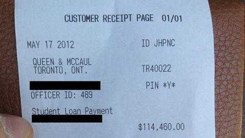 Law Grad Pays Loan Balance in Cash