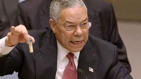 Colin Powell's New Book Claims 'No Debate on War with Iraq'