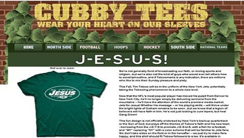 Tim Tebow's Lawyers Threaten Website with Legal Action