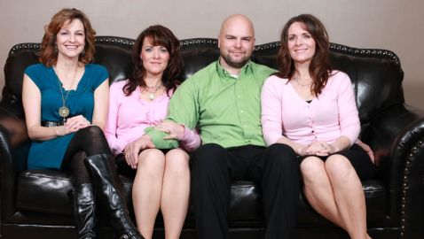 Twin Sisters and Cousin Married to Same Man