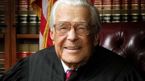 Oldest U.S. Federal Judge, Robert Kelleher, Dies at 99