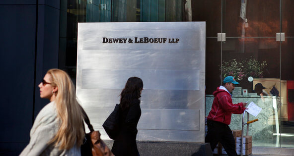Conference Call Scheduled for Dewey Ex-Partners Regarding Compensation