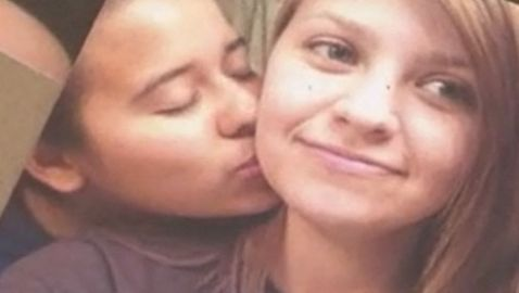 Teen Lesbian Couple Shot in Texas Park