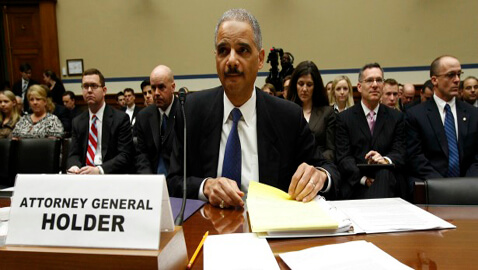 Holder Becomes First Sitting AG Held for Contempt by a Full House