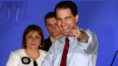 Wisconsin Governor Walker Stays, the First to Survive a Recall