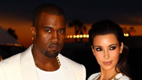 First Pictures of Kim Kardashian and Kanye West Wedding Released